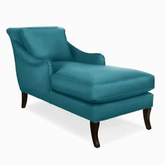 Charleston Chaise in Jewel Peacock | @Company C #dreamincolor