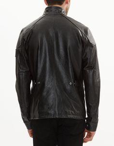 Woodbridge Leather Jacket   Men's Leather Jacket   Belstaff