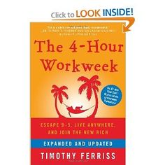 Ferriss gives practical advice on leveraging your time to increase business and decrease work hours.