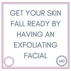 🍂 Fall Skincare Tip #2 🍂 Starting the fall season with a professional facial helps prepare your skin for the upcoming winter & removes buildup from the summer.  #TipTuesday