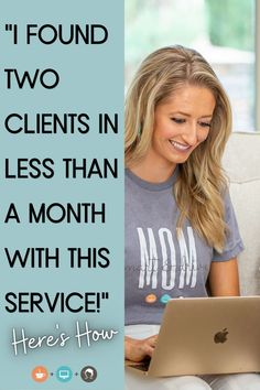 """What Job Seekers are saying about HireMyMom: """"Your website is a blessing! Thank you so much, I was hired by another company. I found two clients in less than a month!!!!"""" Doris B. Learn more about HireMyMom here!"""
