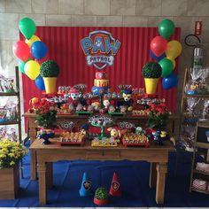 E o tema queridinho das crianças, também foi o tema escolhido pelo Davi para celebrar seus 2 aninhos! Festa super divertida e colorida! Patrulha Canina!!! Peças: @lojinhadefesta Balões: @ferreiragashelio #patrulhacanina #festainfantil #festaspersonalizadas #pawpatrolparty #aniversarioinfantil #kingoofestas #nosfazemosde❤️ Paw Patrol Cake, Paw Patrol Party, Paw Patrol Birthday, Birthday Decorations, Baby Shower Decorations, Birthday Party Themes, Leo Birthday, Baby Party, Sheik