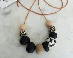 Fimo perline gioielli collana /polymer argilla / collana di