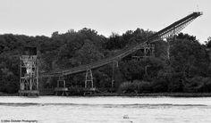 Abandoned Conveyor on Delaware River