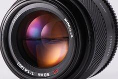 MINOLTA AF 50mm f1.4 Standard Prime lens in EXCELLENT CONDITION from Japan