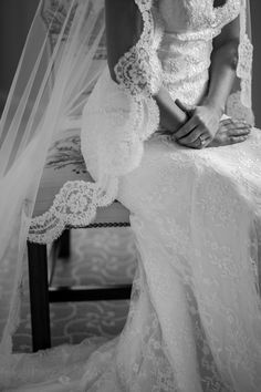 lace edged veil #wedding #veil