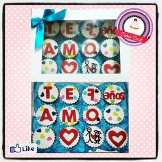 Cupcakes - Sweet Messages / CID - 550 #barranquilla #cakestagram #uniautonoma #uniatlantico #uninorte #unilibre #unimetro  #hbd #CakescraftKeados #cakeboss #cupcakewar #cakescraftbq #airsoft #halamadrid #jamesrodriguez10 #collagecostacaribe #enchufetv #yoperdono #golcaracol #seleccioncolombia #marzo #babyshower #sweetmessages #miercoles #messages #wendsday #sweet #babyshop #rusia2018 #vamoscolombia