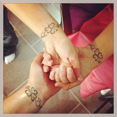 3 Sisters Tattoo....I'd do 4 sisters, maybe a variation of a 4 leaf clover?