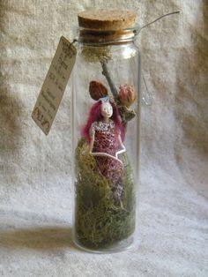 Captured Woodland Spirit  Queen Fairy   by littlefolkoffaery