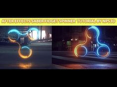 AFTER EFFECTS|SABER|FIDGET SPINNER |TUTORIAL & PROJECT FILE | BY NPS3D|YOUTUBE| - YouTube