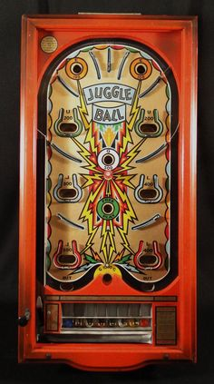 Juggle Ball Playfield - Glass Removed