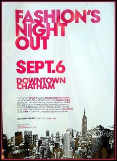 Fashion's Night Out Chatham Sept. Fashion Night, Fashion Show, Night Out