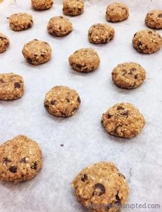 Lentil Oatmeal Chocolate Chip Cookies from Nutmeg Disrupted