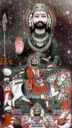 Baba Ramdev, Wallpaper Gallery, Indian Gods, Wallpaper Free Download, Samurai, Anime, Art, Art Background, Anime Shows
