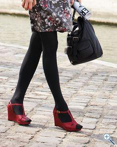 Raffaella Leather T-Strap Sandals