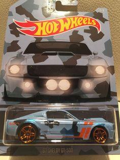 HOT WHEELS CAMOUFLAGE WALMART EXCLUSIVE '67 SHELBY GT-500 auf US LONG CARD OVP in Spielzeug, Spielzeugautos, Autos | eBay
