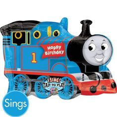 Foil Thomas & Friends Singing Balloon 14in - Party City