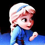 Elsa + left-handed