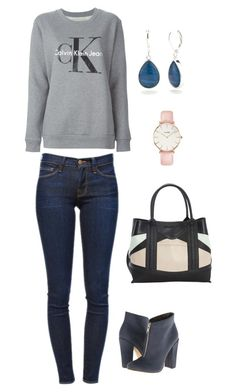 """""""Untitled #816"""" by netteskytte on Polyvore featuring Calvin Klein Jeans, Frame Denim, Michael Antonio, Steve Madden, Napier and CLUSE"""