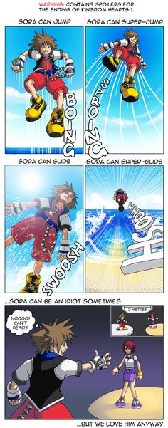 KH: Sora can... by Risachantag on deviantart