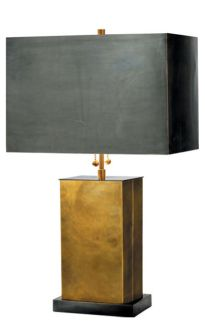 Designer Thomas O'Brien. Metal base and shade. Is it too soon to say I love you?