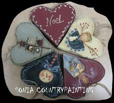 Preciosos corazones, country