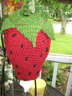 Crochet plastic bag / garbage