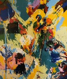 X Rated Film Maker by LeRoy Neiman