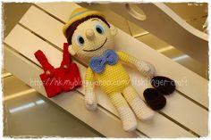 Amigurumi Pinnocchio_03 by Fish Finger Craft, via Flickr