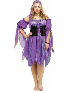 Gypsy Magic Plus Size Costume