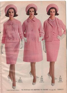 Vintage Fashion: Artifacts From Years Gone By - Popular Vintage 1960s Dresses, Vintage Dresses, Vintage Outfits, Sixties Fashion, Retro Fashion, Vintage Fashion, Vintage Mode, Moda Vintage, Decades Fashion