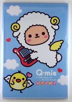 """""""Q-mie Sheep"""" inneholder 80 brevark i ulike design."""