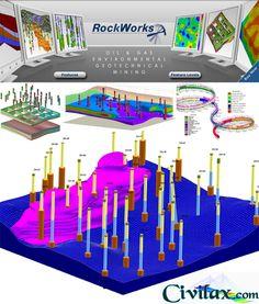 RockWare RockWorks 16 v2013 7.5 - التطبيقات الهندسية