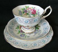 Royal Albert Fragrance Trio Cup Saucer Plate | eBay