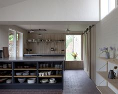 converted-barn-kitchen-with-sliding-door