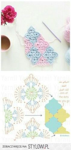 Die 82 Besten Bilder Von Grannys Moroccan Tiles Crochet