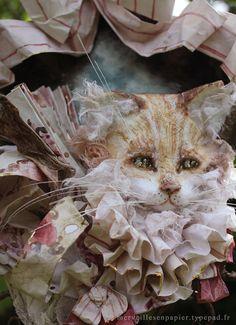 Chat roux by Laëtitia Miéral (merveilles en papier)