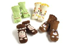 Animal Slipper Socks Will Instantly Up the Cute Factor of an Outfit #slippers trendhunter.com