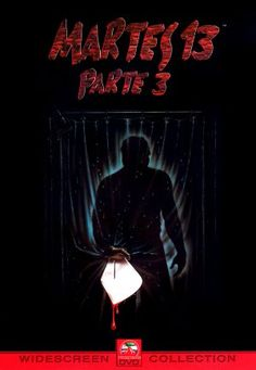 Friday the 13th Part III (1982) movie cover (Argentina)