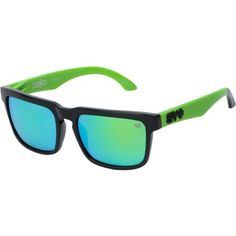 a92967dd09 Spy Sunglasses Helm Ken Block Rally Green   Grey Sunglasses