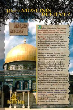 Concise summary of Islamic Beliefs