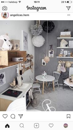 Room Inspiration, Office Desk, Kids Room, Nursery, Playrooms, Interior Design, Garage, House, Furniture