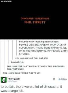 awesome, funny, and lol image Nerd, Jurrassic Park, Funny Quotes, Funny Memes, Funny Videos, You Had One Job, Lol, Fandoms, Trust Yourself