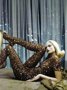 full body glitter suit!