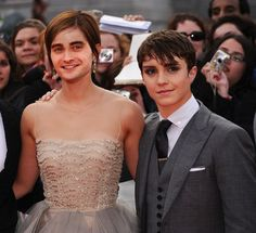Emma Watson and Daniel Radcliffe | 12 Of The Freakiest Face Swaps You'll Ever See