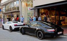 Porsche 911 997 Carrera GTS & Gallardo LP560-4