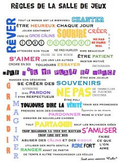 Projet grenier -2- Les murs Montessori Room, Kids Poster, First Day Of School, Kids And Parenting, Interior Design Living Room, Playroom, Words Quotes, Kids Room, Messages