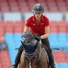 German show jumper Rene Tebbel represents Ukraine at the European Equestrian Championships
