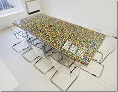 lego desk!