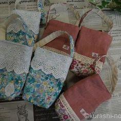 余り布でできるハンドメイドレシピ集|バザーに出せる小物たち | 【暮らしの音】kurashi-*note Diy And Crafts, Burlap, Toms, Reusable Tote Bags, Sewing, Dressmaking, Hessian Fabric, Couture, Stitching